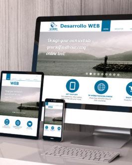 Página web dinámica (Pago de contado)
