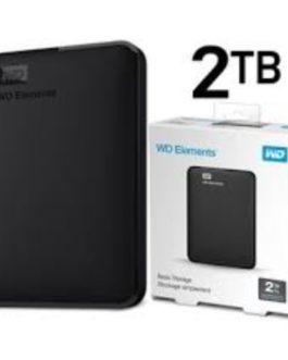 WD ELEMENTS Almacenamiento portátil WDBU6Y0020BBK – Disco duro – 2 TB
