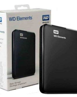 WD ELEMENTS Almacenamiento portátil WDBUZG0010BBK – Disco duro – 1 TB