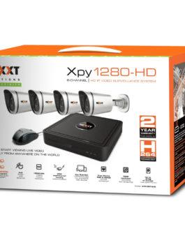 Nexxt Xpy 1280-HD – NVR + Cameras – 8CH 4CAM 720p POE