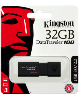 Kingston DataTraveler 100 G3 – Unidad flash USB – 32 GB Tapa Deslizante